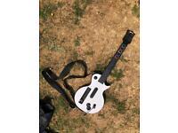 Guitar hero wii