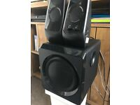 WIRELESS PC SPEAKERS(sound stream) VERY GOOD BASS AND SOUND