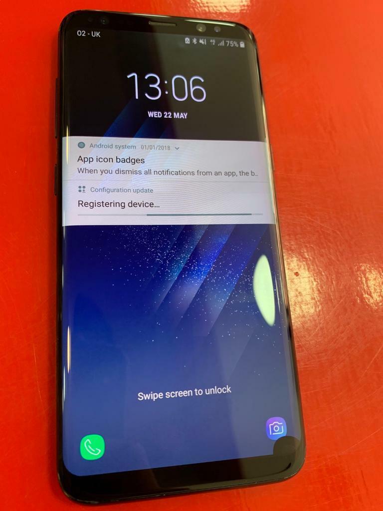 Samsung S8- 64gb- Unlocked- Black- Grade A | in Stoke-on-Trent,  Staffordshire | Gumtree