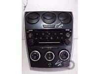 Mazda 6 (2002-2008) RADIO CD Player & Heater control unit ref.j1