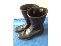 Frank Thomas Motorcycle boots - v.g.c