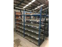 Warehouse/ Garage Shelving  Large Quantity Available 
