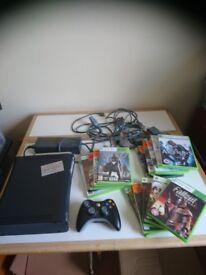 Xbox 360 elite 16 games accessories