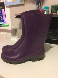 Rubber Rain boots Wellies size 6