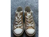 Converse Rose Gold Trainers