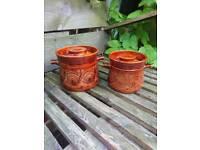 Ellgreave Casserole /Storage Pots