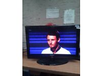"""Samsung 32"""" LCD TV, Freeview, 3 month gurantee"""