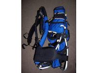Blue Child-Carrier Backpack, Kelty Brand