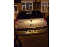 Citroen C4 in silver. Excellent condition inside and out. Had new clutch last year. Lovely car.