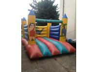 Bouncy castle 10ft by 15ft and blower