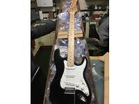 Custom fender style guitar