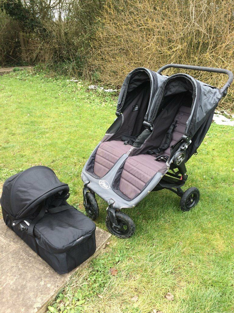 Baby Jogger City Mini Gt Double Buggy With Optional Carrycot In Berkeley Gloucestershire Gumtree