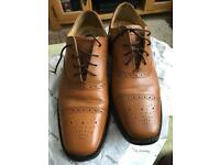 Samuel Windsor Tan Shoes Sz9