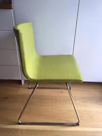 Ikea Bernhard Real Leather Dining Chair