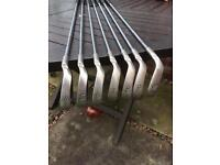 Set of Ping i3+ golf clubs