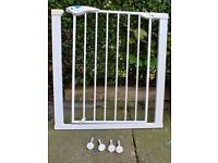 2 x Lindam Easy-Fit Plus Deluxe Safety Gate