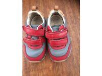 Boys clarks shoes size 4.5H