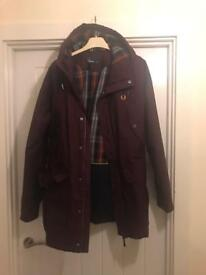 Fred Perry hooded coat
