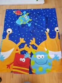 Alien Space Toddler Bedding