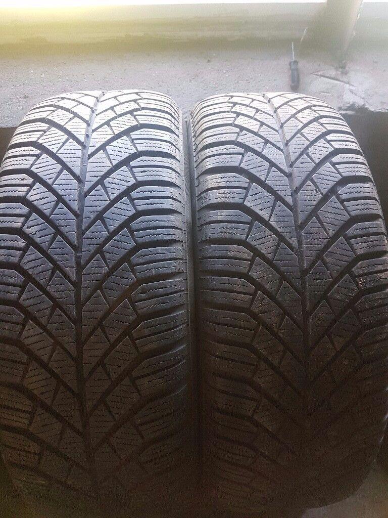 Pair of 205 55 16 tyres
