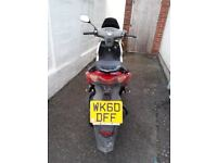 Kymco Super 8 50cc 2T, 10 mths MOT, needs attention