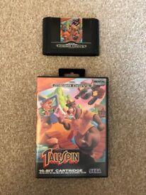 Sega Mega Drive Game Tale Spin