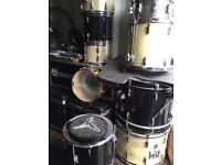 Pearl Forum Series Drum set and Premieri Drum set