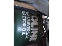 Rustic antique oil barrel vintage Onoline marked
