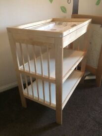 "Ikea ""Gulliver"" baby change table"