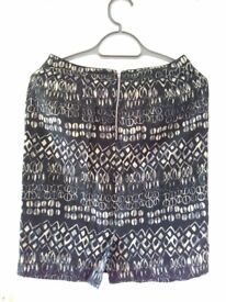 M&S UK8 Linen blend skirt - new without tags