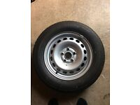VW Touran Spare Wheel with New Tyre