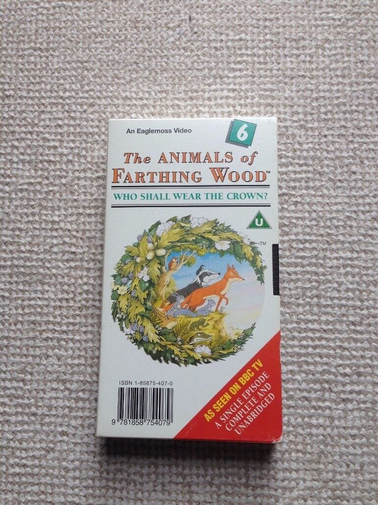 Animals of Farthing Wood - Who Shall Wear The Crown (No. 6) VHS