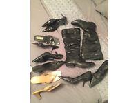 Ladies Shoe Bundle (second hand) - size 5