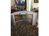 Sony TV stand - two glass shelves