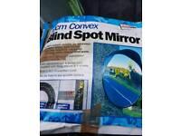 Blind spot mirror ideal shop , driveway etc