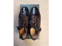 Ghillie Brogue Kilt Shoes