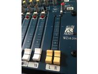 Allen and Heath Mixwizard WZ16:2DX Sound Desk / Mixer