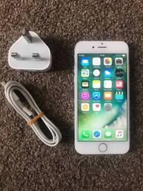IPhone 6 16gb silver 02 tesco giff gaff