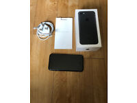 *EXCELLENT*iPhone 7*128GB*Matt Black*Unlocked*Boxed*Bought from Apple*