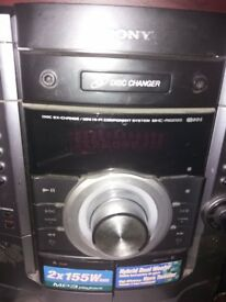 cd stereo player 3 disc changer