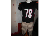 adults american footballer outfit