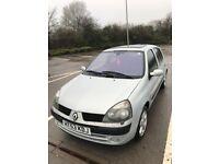 Renault Clio 1.2 5DR low miles long MOT
