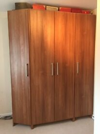Spacious Wardrobe, Chest of 4 Draws & Chest of 2 Draws - excellent condition
