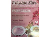 Oriental star delivery driver wanted