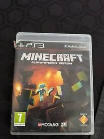 Minecraft playstation 3 game