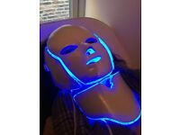 The ultimate LED facial mask