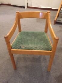 WOODEN ARMCHAIR - PERFECT FOR UPCYCLING!