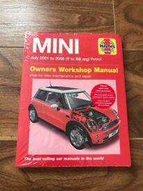 Mini Cooper owners workshop manual