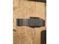 Apple iwatch 42mm stainless steel bracelet barely warn