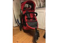 Phil & Teds Sporty Inline Stroller (double Buggy)